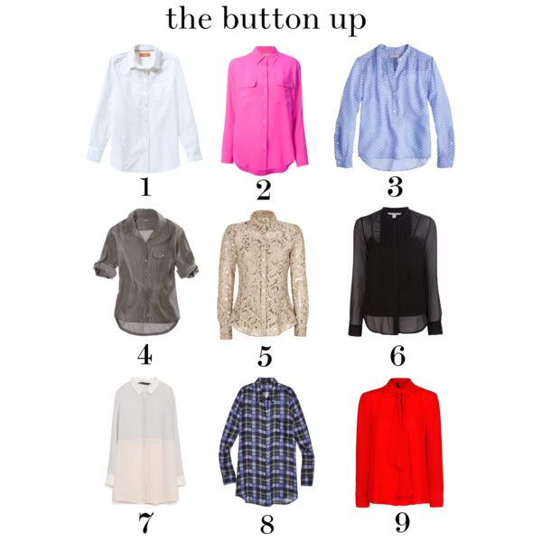 button up blouses